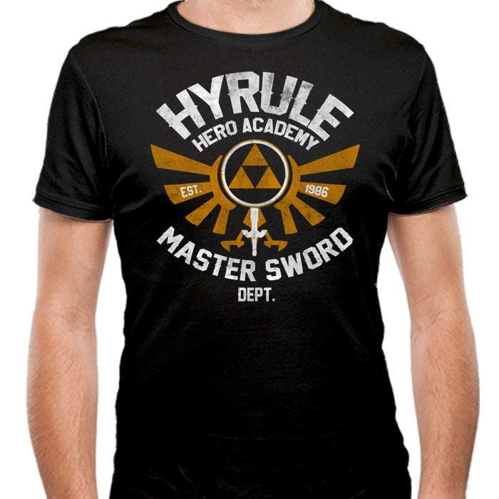 Hyrule Academy - Men's Fitted T-Shirt
