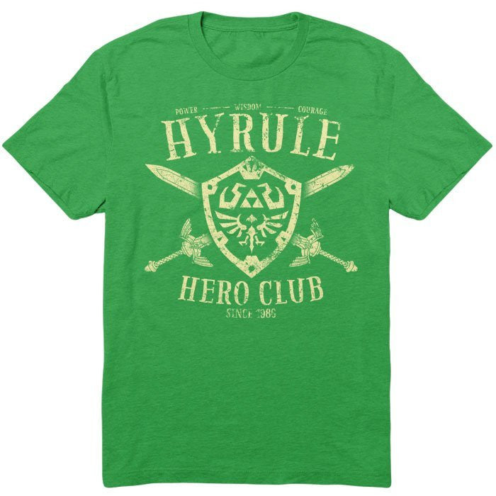 Hyrule Hero Club - Youth T-Shirt