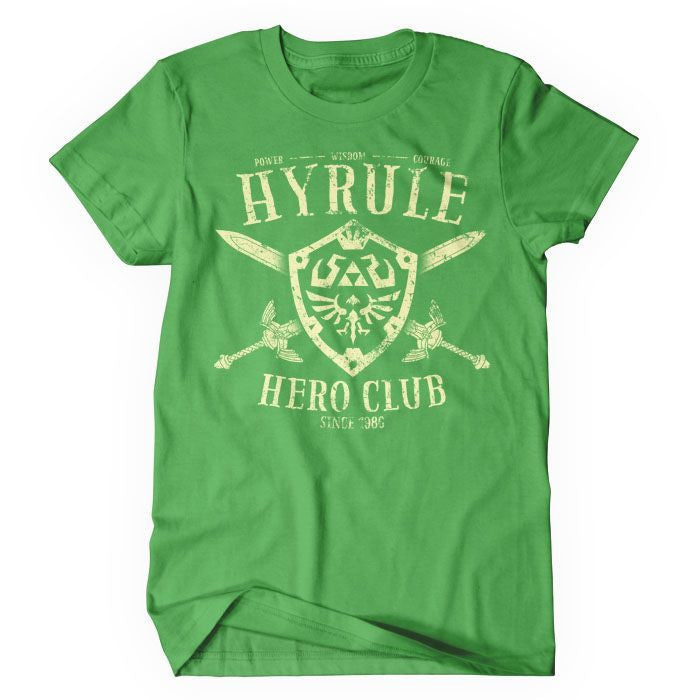 Hyrule Hero Club - Women's T-Shirt