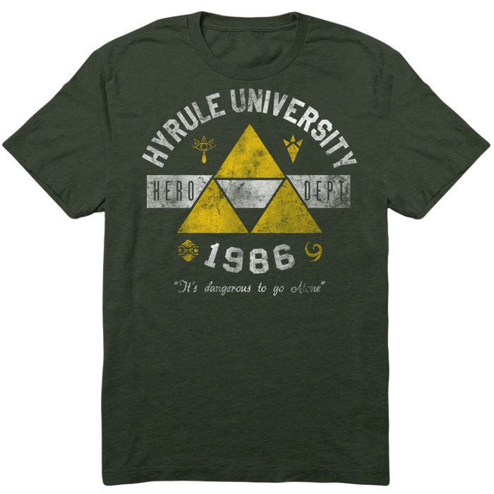Hyrule University - Men's T-Shirt