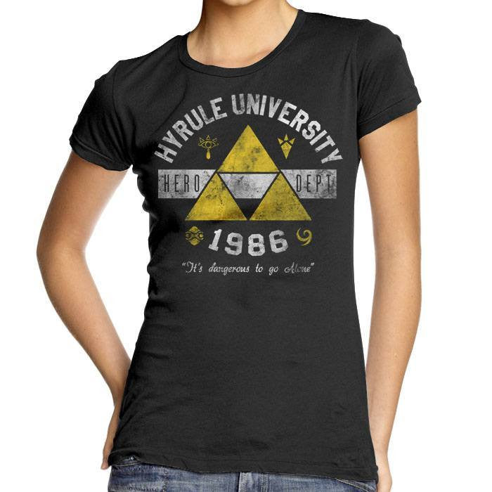 Hyrule University - Women's Fitted T-Shirt