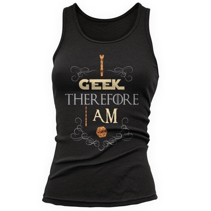 I Geek - Women's Tank Top