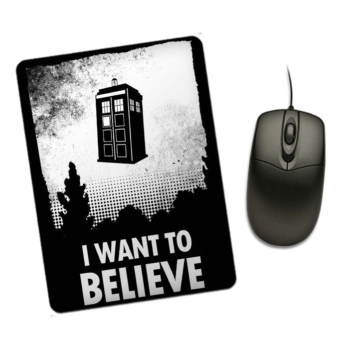 I Want to Believe - Mousepad