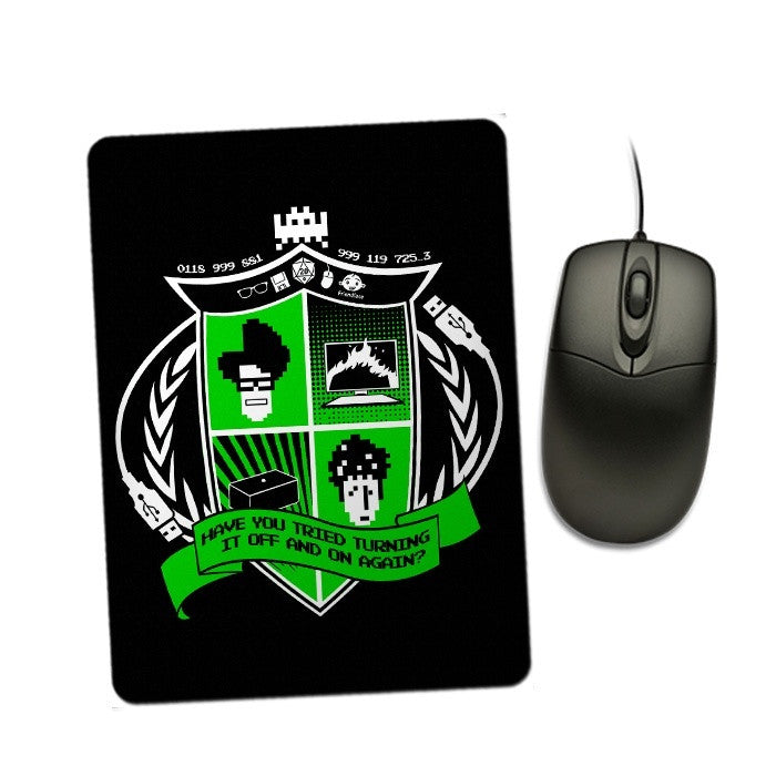 IT Crest - Mousepad