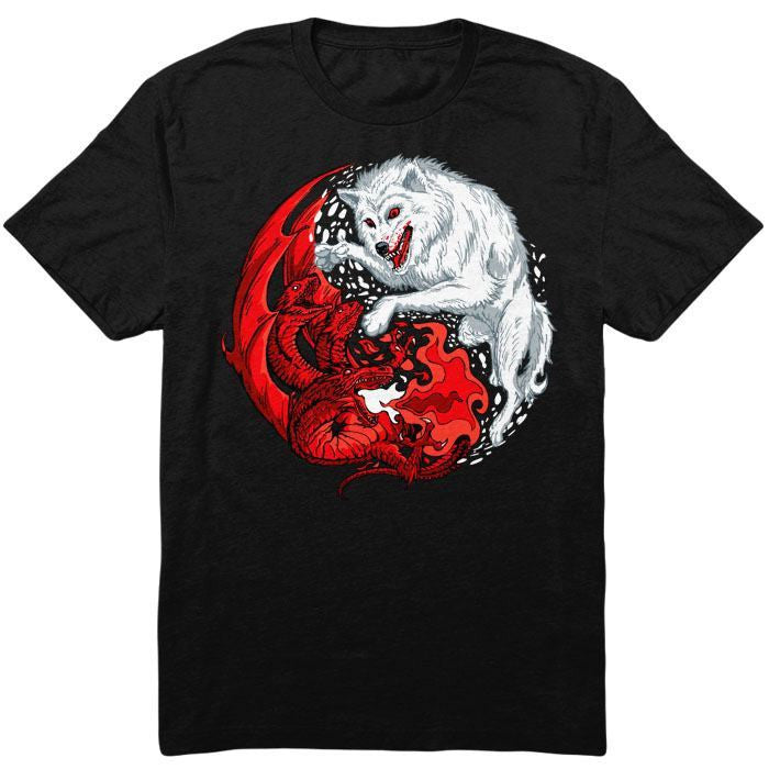 Ice and Fire - Men's T-Shirt