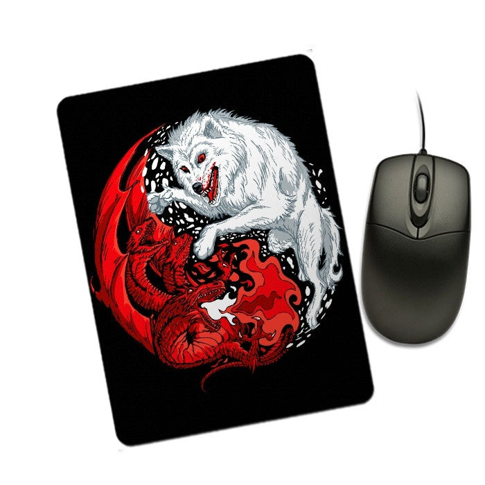Ice and Fire - Mousepad