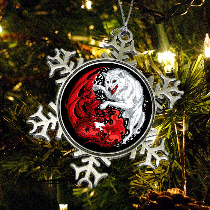 Ice and Fire - Ornament
