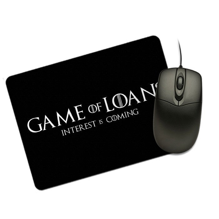 Interest is Coming - Mousepad