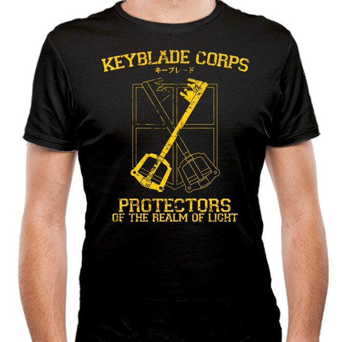 Keyblade Corps - Men's Fitted T-Shirt