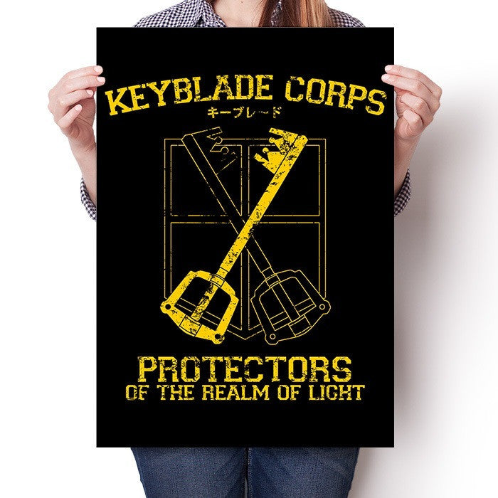 Keyblade Corps - Poster