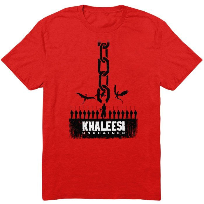 Khaleesi Unchained - Men's T-Shirt