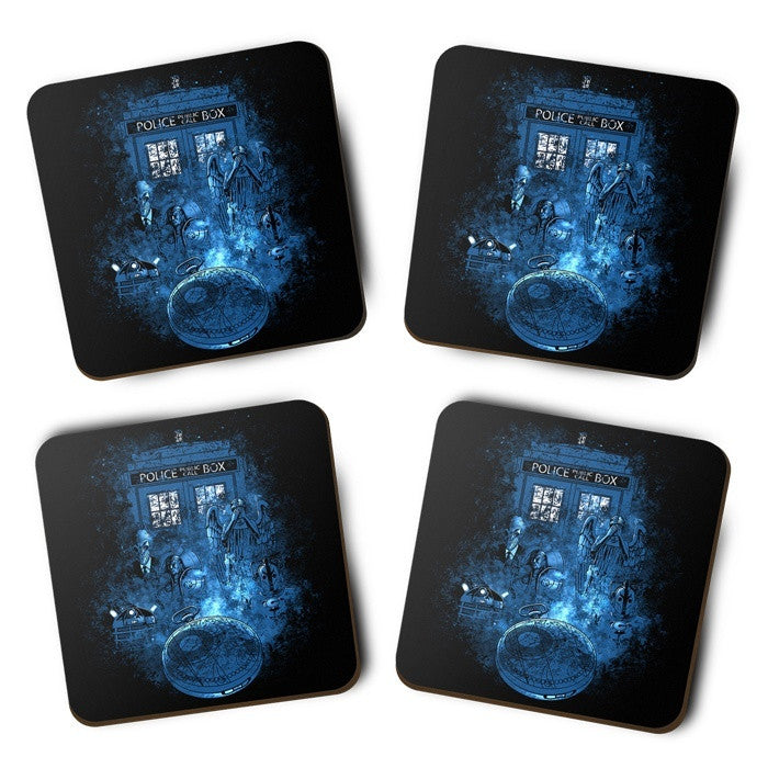 Life of the Doctor - Coasters
