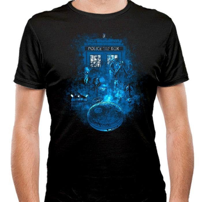 Life of the Doctor - Men's Fitted T-Shirt