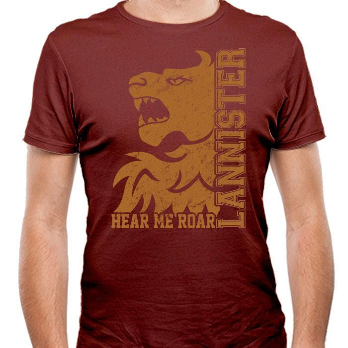 Lannister College - Men's Fitted T-Shirt