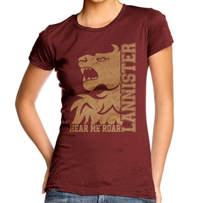 Lannister College - Women's Fitted T-Shirt