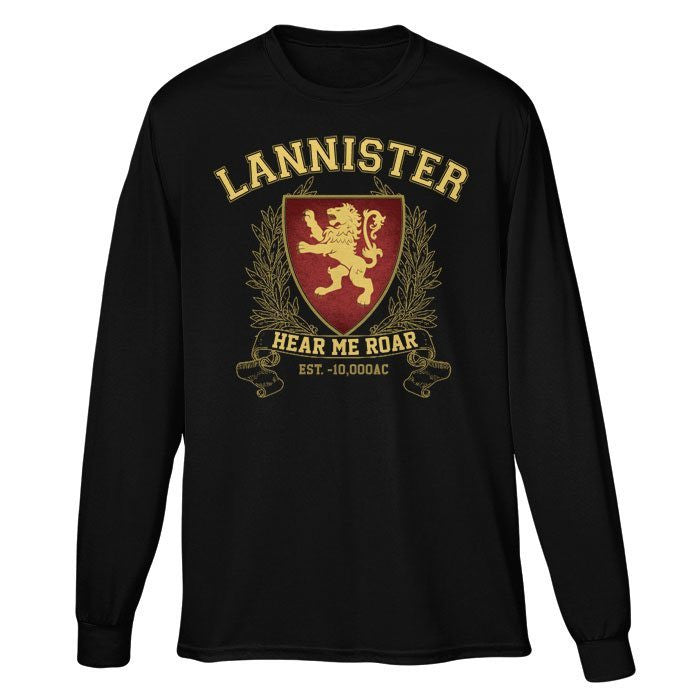 Lannister University - Long Sleeve T-Shirt (Unisex)