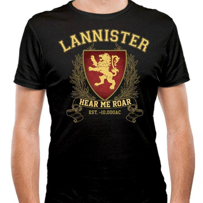 Lannister University - Men's Fitted T-Shirt