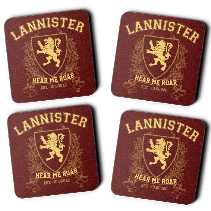 Lannister University (Gold) - Coasters