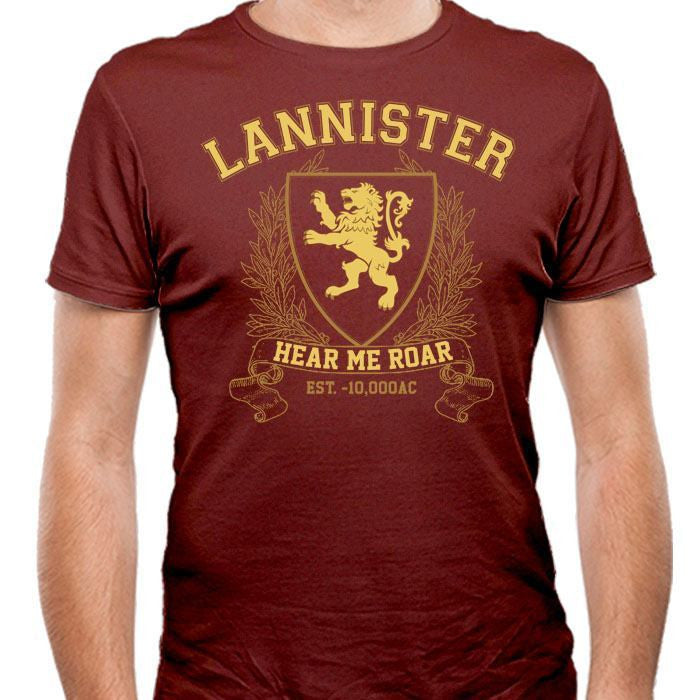 Lannister University (Gold) - Men's Fitted T-Shirt