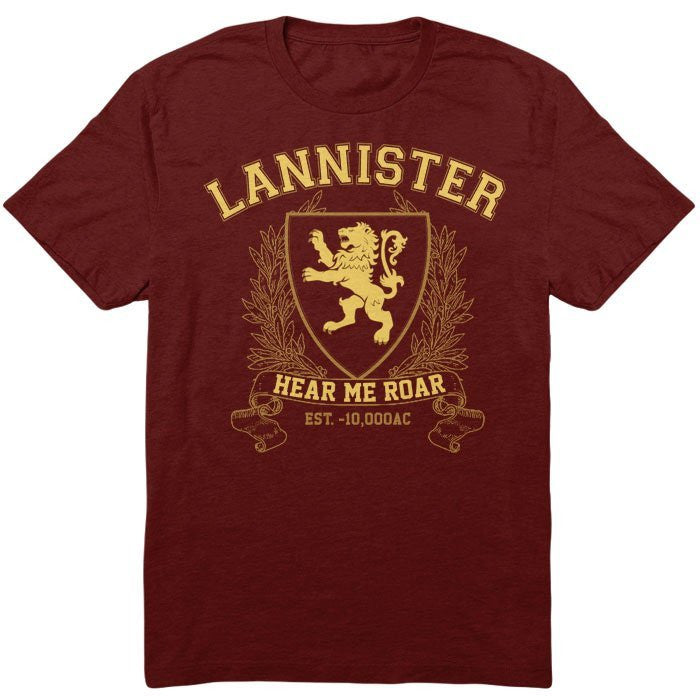 Lannister University (Gold) - Men's T-Shirt