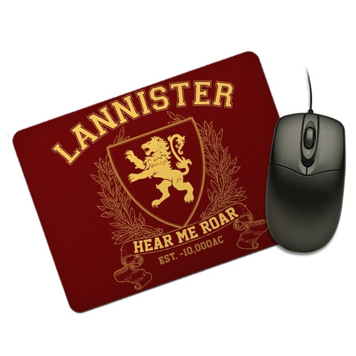 Lannister University (Gold) - Mousepad