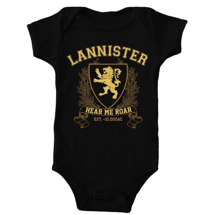 Lannister University (Gold) - Onesie