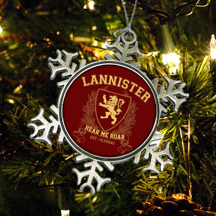 Lannister University (Gold) - Ornament