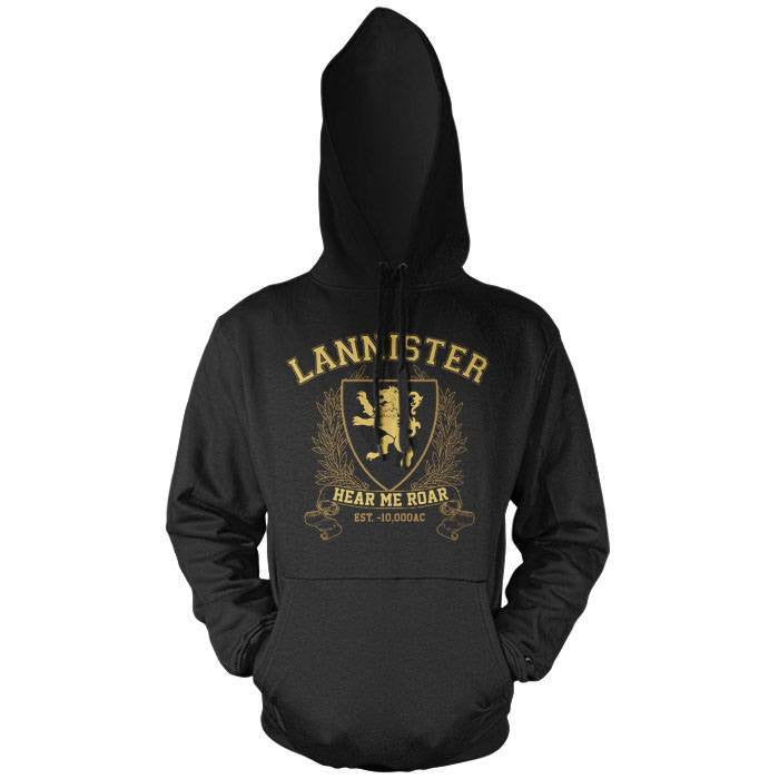 Lannister University (Gold) - Pullover Hoodie