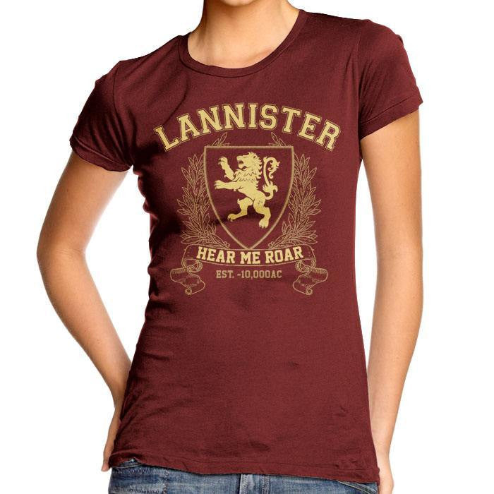 Lannister University (Gold) - Women's Fitted T-Shirt