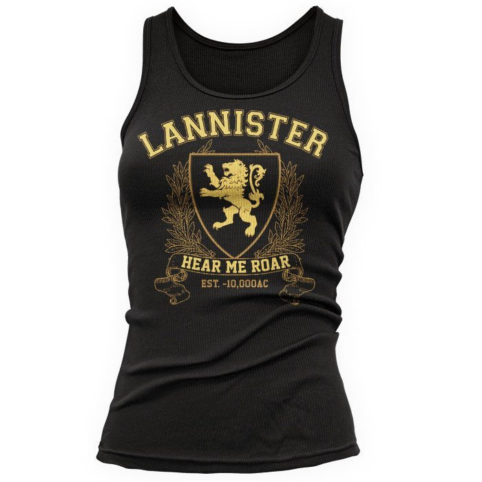 Lannister University (Gold) - Women's Tank Top