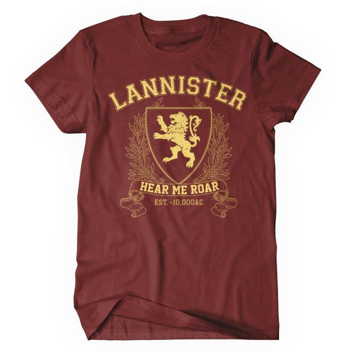 Lannister University (Gold) - Women's T-Shirt