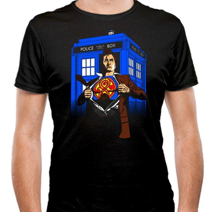 Last Son of Gallifrey - Men's Fitted T-Shirt