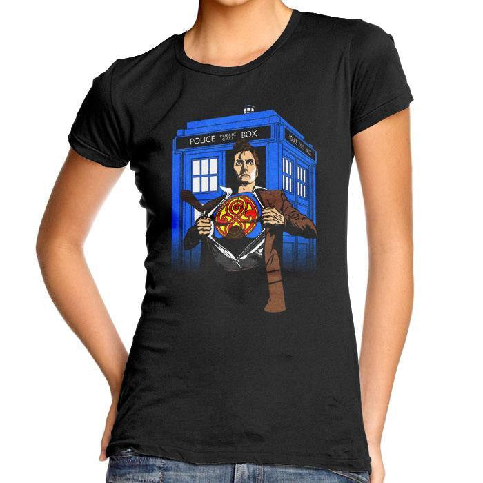 Last Son of Gallifrey - Women's Fitted T-Shirt