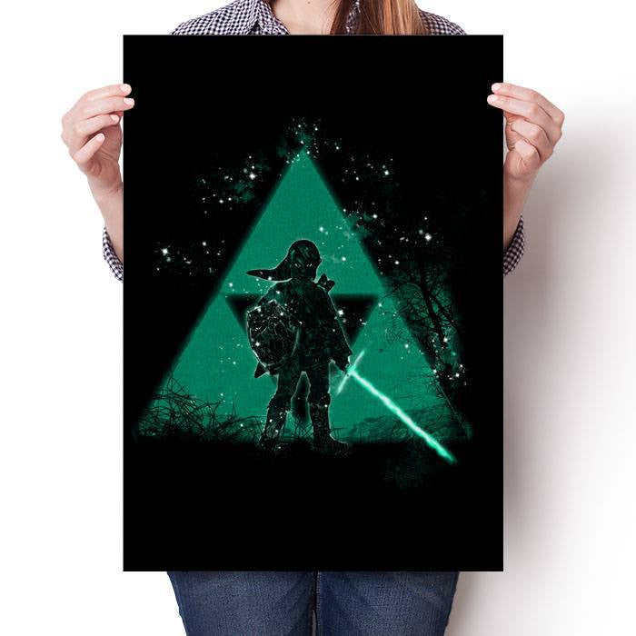 Let the Triforce Be With You - Poster