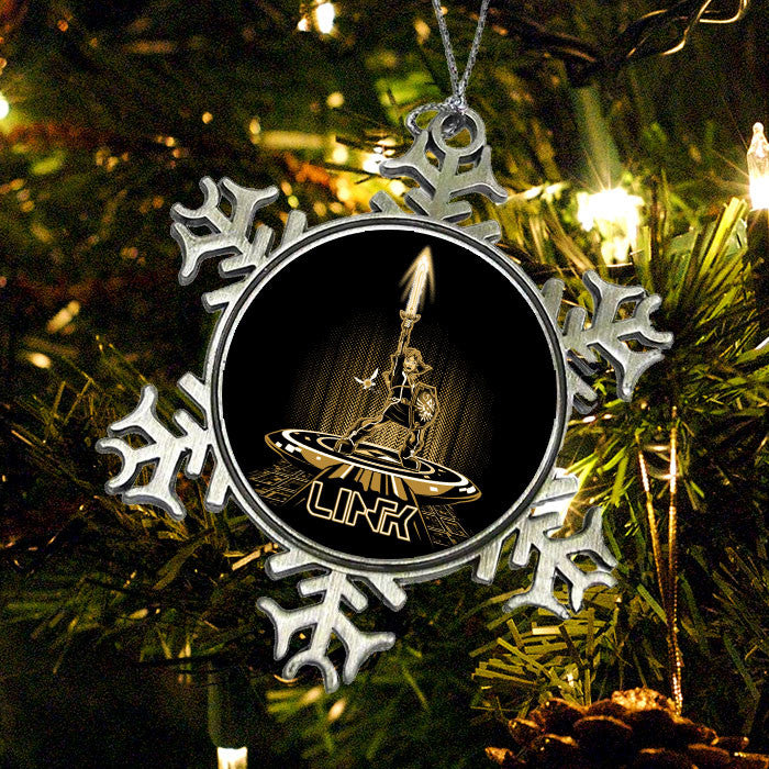 Linktron (Gold) - Ornament
