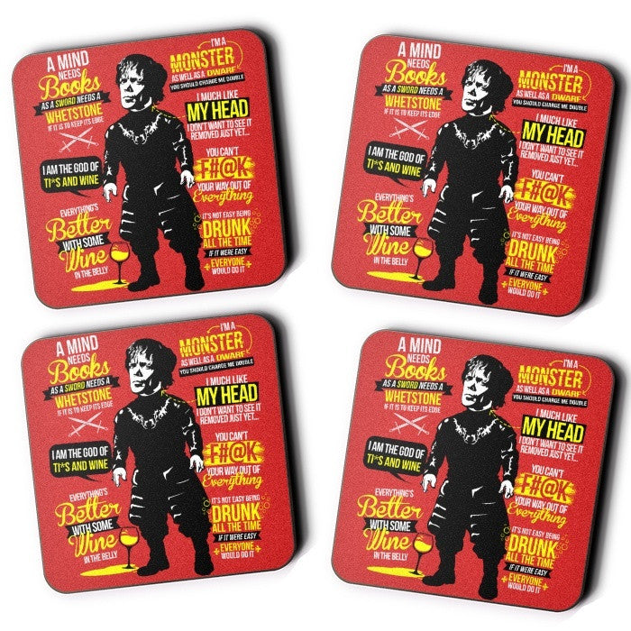 Little Lion Quotes - Coasters