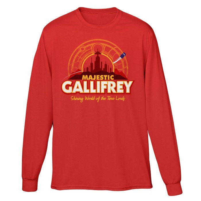Majestic Gallifrey - Long Sleeve T-Shirt (Unisex)