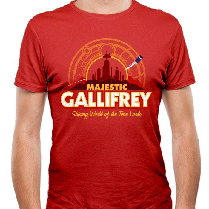 Majestic Gallifrey - Men's Fitted T-Shirt