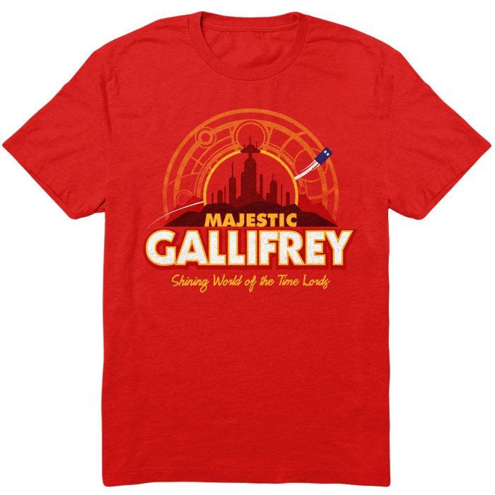Majestic Gallifrey - Men's T-Shirt