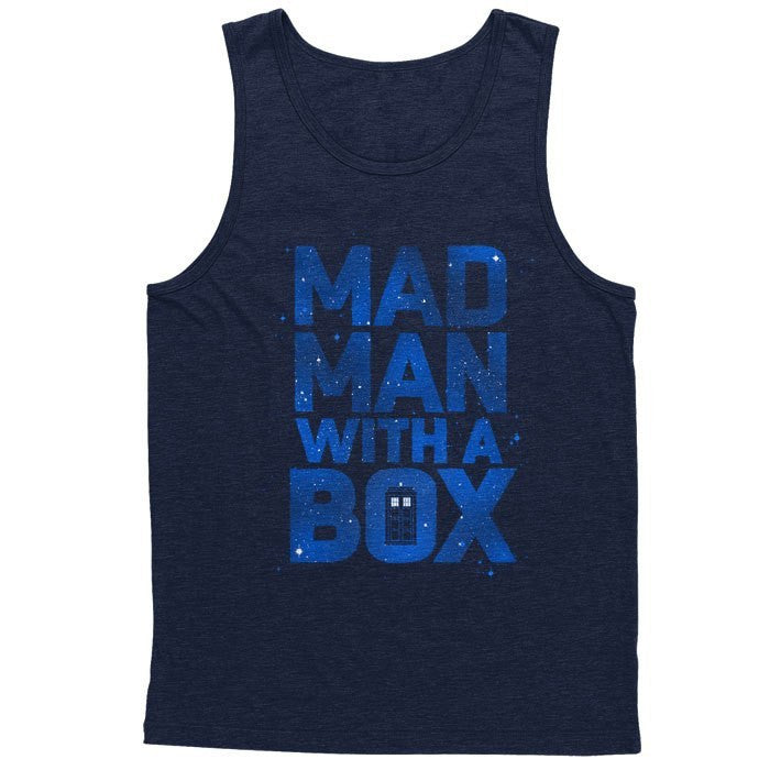 Mad Man With a Box - Men's Tank Top