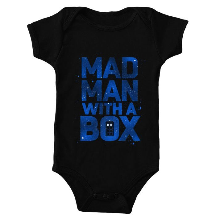 Mad Man With a Box - Onesie