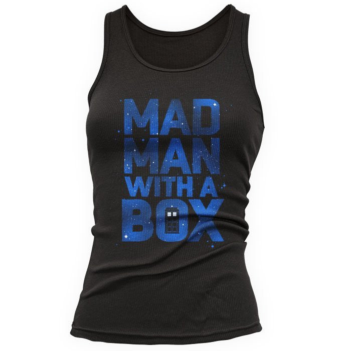 Mad Man With a Box - Women's Tank Top