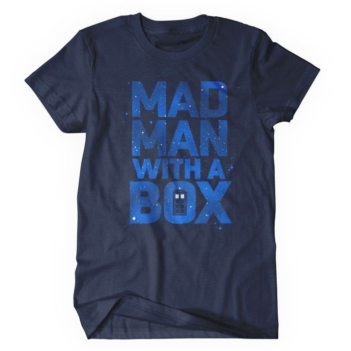 Mad Man With a Box - Women's T-Shirt