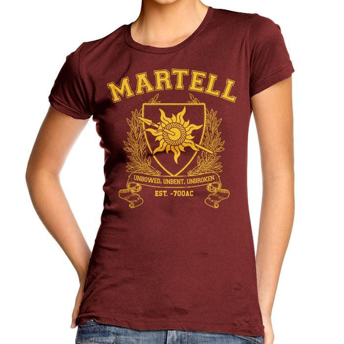 Martell University - Women's Fitted T-Shirt