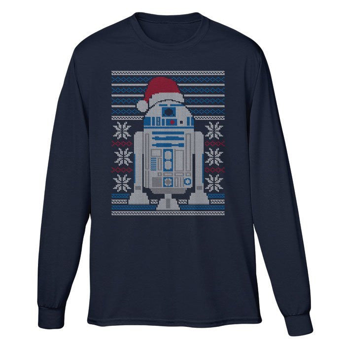 Merry Droidmas - Long Sleeve T-Shirt (Unisex)