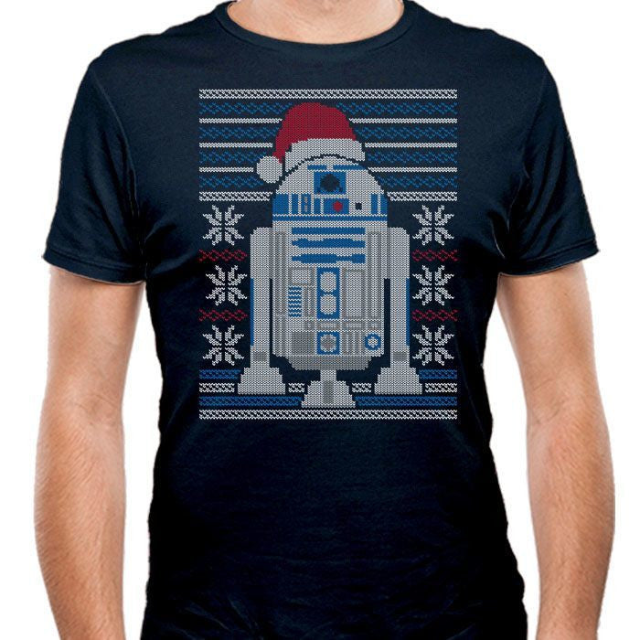 Merry Droidmas - Men's Fitted T-Shirt
