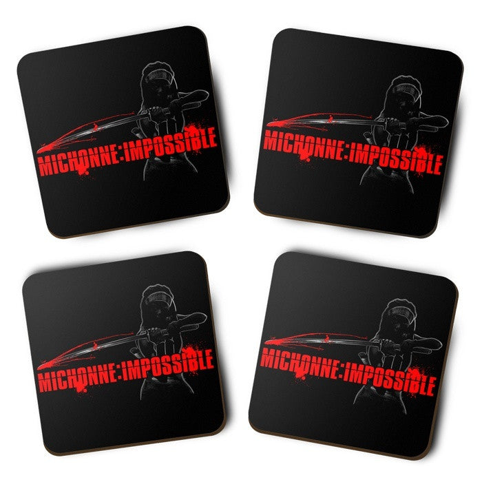 Michonne Impossible - Coasters