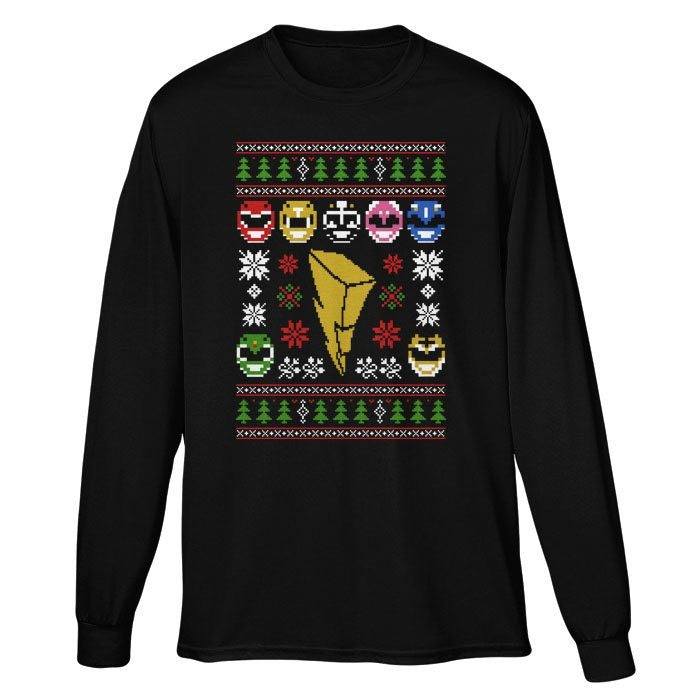 Mighty Morphin' Sweater - Long Sleeve T-Shirt (Unisex)
