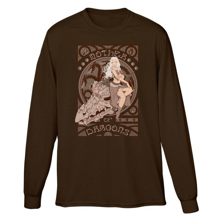 Mother of Dragons - Long Sleeve T-Shirt (Unisex)