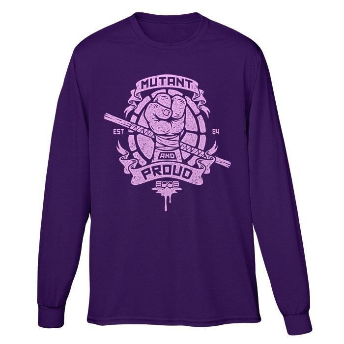 Mutant and Proud - Donnie - Long Sleeve T-Shirt (Unisex)